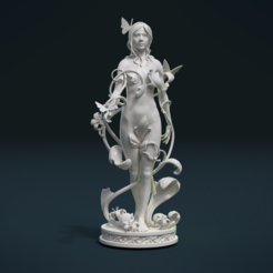 Download 3D printing templates Dryad, Skazok