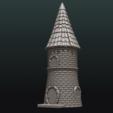 3D printing model Fantasy Tower House, Skazok