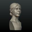 G_Head-03.png Download 3DS file Girls Head • 3D print object, Skazok