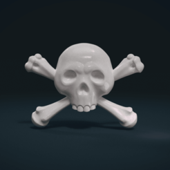 Download 3D print files Simple skull relief, Skazok