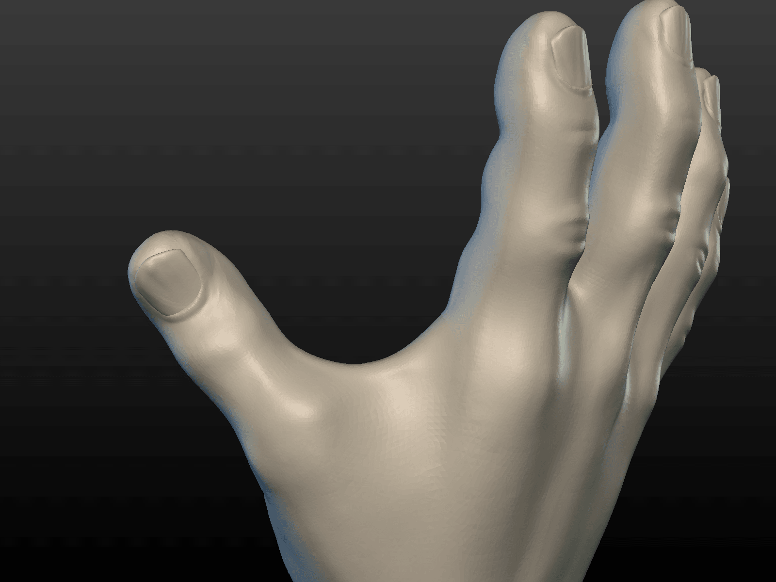 Hand-07.png Download 3DS file Hand • Object to 3D print, Skazok