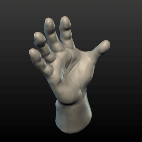 Hand-04.png Download 3DS file Hand • Object to 3D print, Skazok