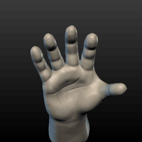 Hand-02.png Download 3DS file Hand • Object to 3D print, Skazok
