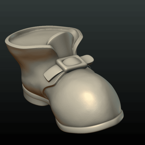 Boot-04.png Download 3DS file Boot • Model to 3D print, Skazok