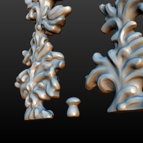 two_firtree-06.png Download 3DS file Two fir trees • 3D printer design, Skazok