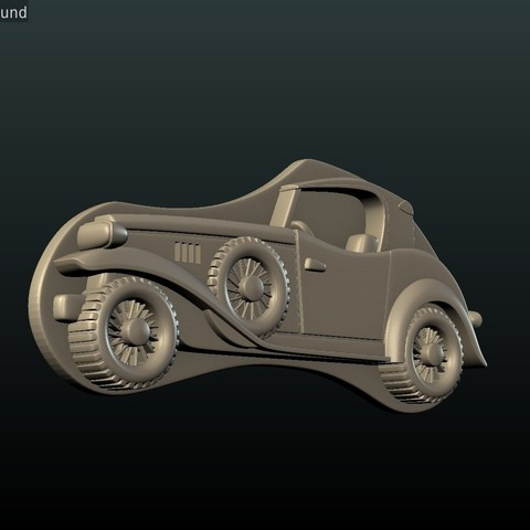 Car_box-10.jpg Download STL file Car Relief • Design to 3D print, Skazok