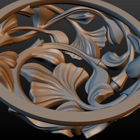 Earring-13.jpg Download STL file Earring • 3D printing template, Skazok
