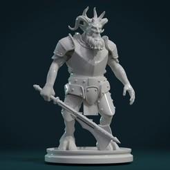 Descargar diseños 3D Figura demoníaca III, Skazok