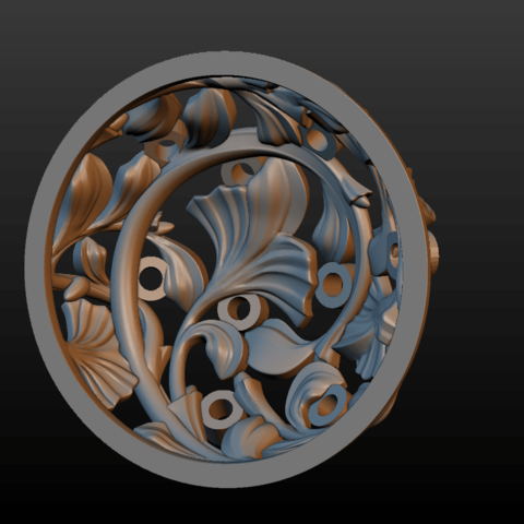 Earring-19.png Download STL file Earring • 3D printing template, Skazok