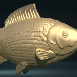 Download 3D printer model Fish, Skazok