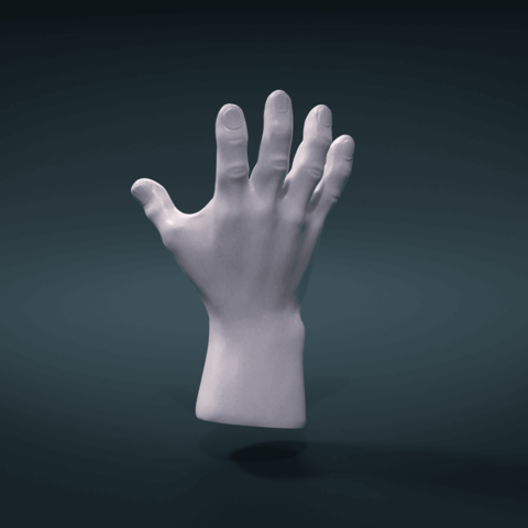 Hand-15.png Download 3DS file Hand • Object to 3D print, Skazok