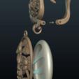 Descargar modelos 3D para imprimir Pendiente Lirio de agua, Skazok
