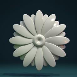 Daisy_II-01.jpg Download STL file Daisy II • Model to 3D print, Skazok