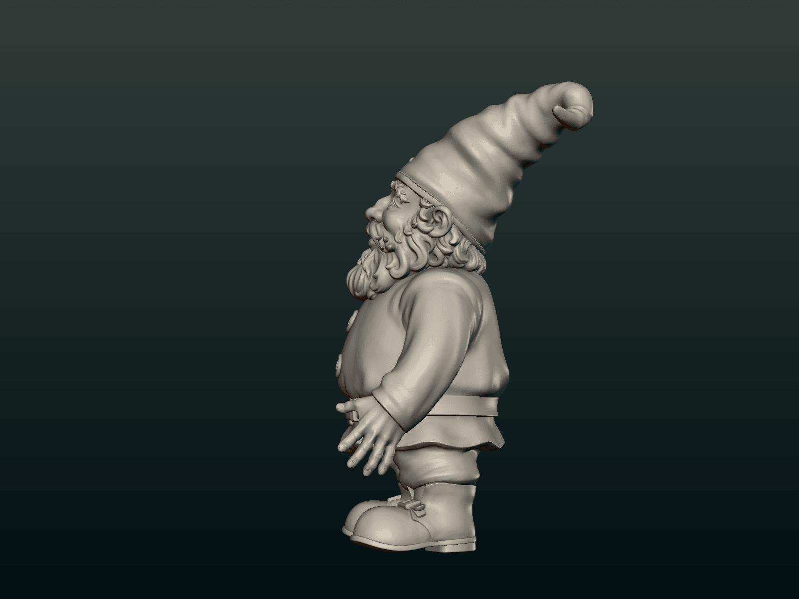 Garden_Gnome-06.png Download STL file Garden Gnome • 3D printing design, Skazok