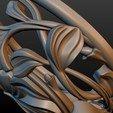 Earring-12.jpg Download STL file Earring • 3D printing template, Skazok