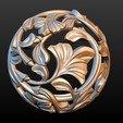 Earring-01.jpg Download STL file Earring • 3D printing template, Skazok