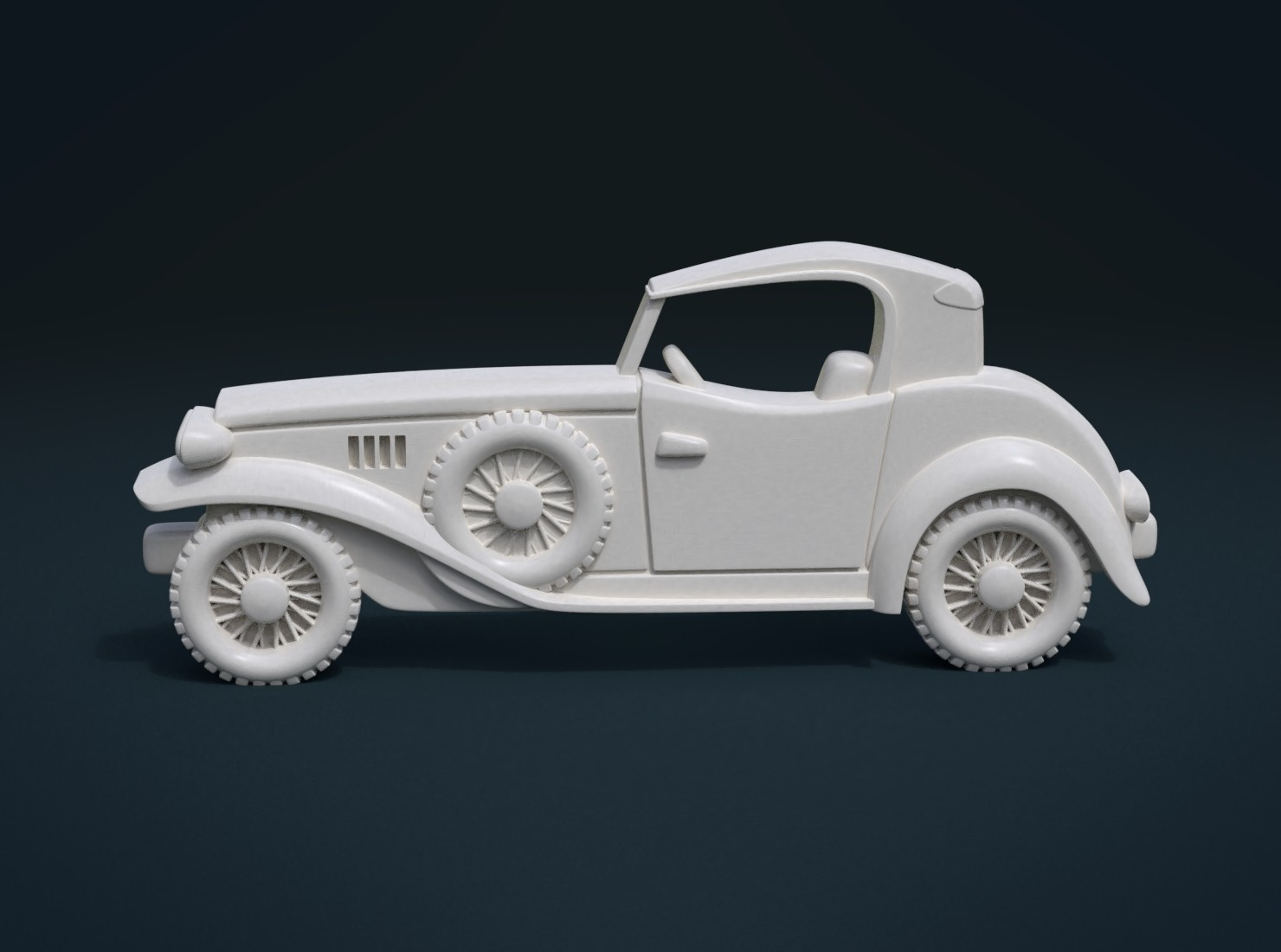 Car_Cycles-02.jpg Download STL file Car Relief • Design to 3D print, Skazok