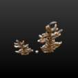 two_firtree-04.png Download 3DS file Two fir trees • 3D printer design, Skazok