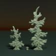two_firtree-01.png Download 3DS file Two fir trees • 3D printer design, Skazok