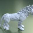 Fantasdy_beast-0004.png Download 3DS file Fantasy Beast • 3D printable template, Skazok
