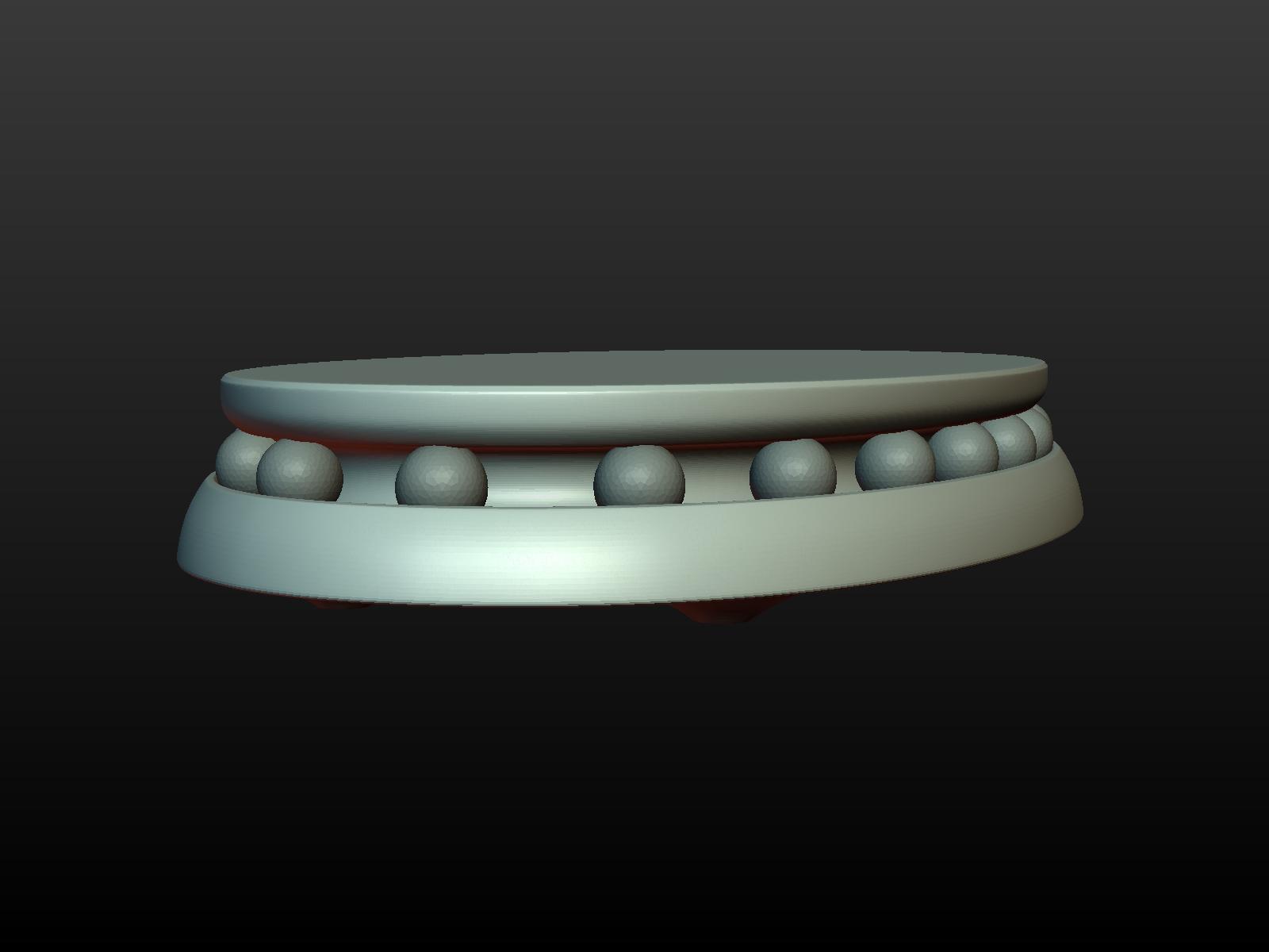 Stand-006.png Download 3DS file Base for sculptures • Model to 3D print, Skazok
