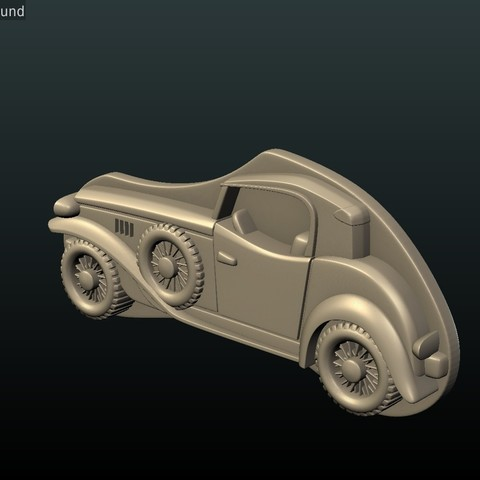 Car_box-09.jpg Download STL file Car Relief • Design to 3D print, Skazok