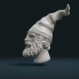 STL files Gnome Head, Skazok