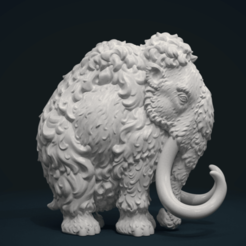Download 3D printer designs Mammoth, Skazok