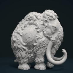 3D printing model Mammoth, Skazok