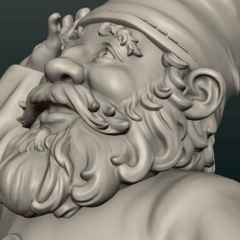 Garden_Gnome-15.png Download STL file Garden Gnome • 3D printing design, Skazok