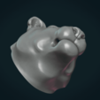 Download 3D printer designs Tiger Head II, Skazok