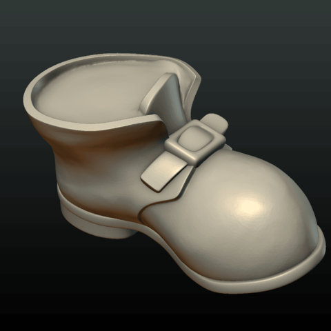Boot-08.png Download 3DS file Boot • Model to 3D print, Skazok