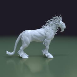 stl file Fantasy Beast, Skazok