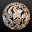 Earring-17.png Download STL file Earring • 3D printing template, Skazok