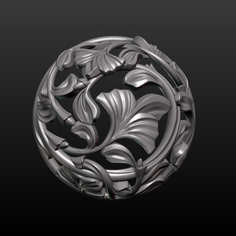 Earring-15.jpg Download STL file Earring • 3D printing template, Skazok