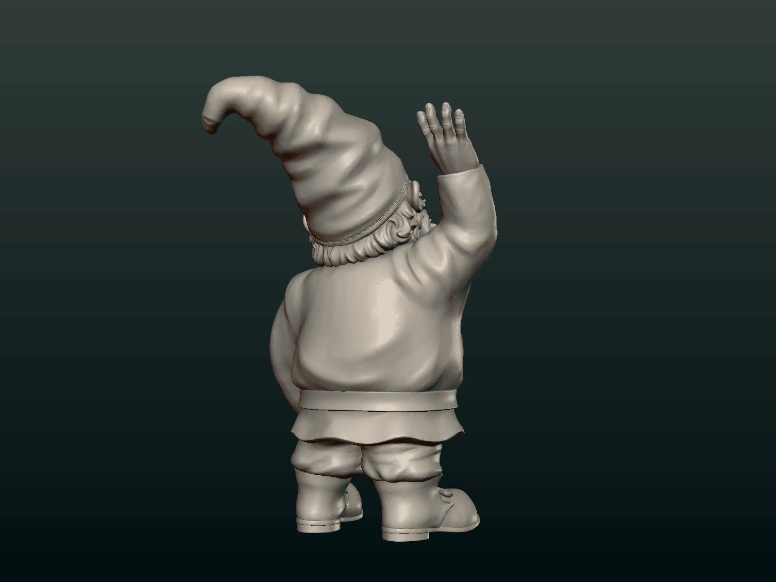 Garden_Gnome-07.png Download STL file Garden Gnome • 3D printing design, Skazok