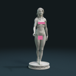 STL file Naked Girl, Skazok