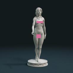 Download STL files Naked Girl, Skazok