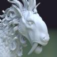 Fantasdy_beast-0008.png Download 3DS file Fantasy Beast • 3D printable template, Skazok