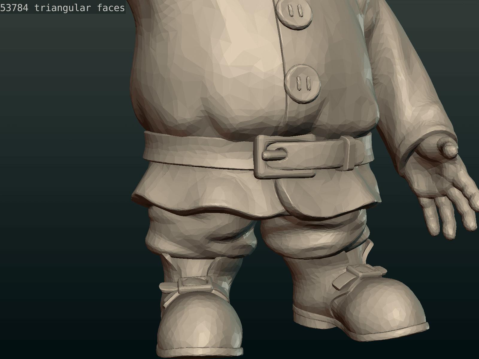 Garden_Gnome-26.png Download STL file Garden Gnome • 3D printing design, Skazok