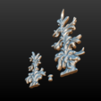 two_firtree-03.png Download 3DS file Two fir trees • 3D printer design, Skazok