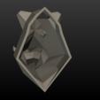 Boars_LP_Head-0014.png Download 3DS file Boar Head Low Poly • 3D print model, Skazok