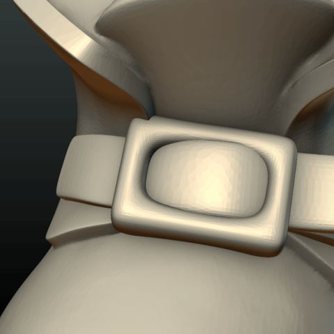 Boot-11.png Download 3DS file Boot • Model to 3D print, Skazok