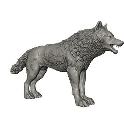 Download 3D printer model Wolf, Skazok