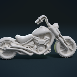 STL file Motorcycle, Skazok