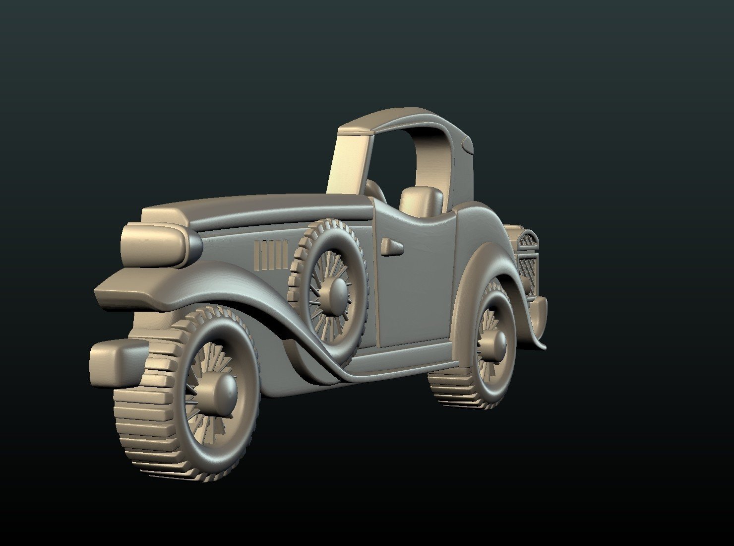 Car_box-04.jpg Download STL file Car Relief • Design to 3D print, Skazok