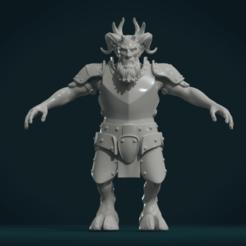 Descargar modelo 3D Figura demoníaca II, Skazok