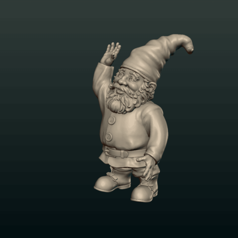 Garden_Gnome-19.png Download STL file Garden Gnome • 3D printing design, Skazok
