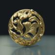 Earring-16.png Download STL file Earring • 3D printing template, Skazok