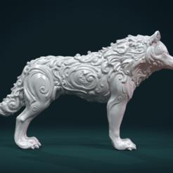 Download 3D printer files Wonderful Wolf, Skazok